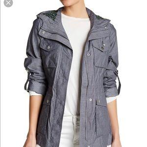 BCBGeneration hooded utility jacket